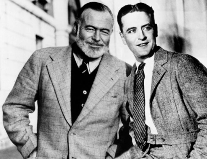 the lost generation and jazz age in the works of ernest hemingway and f scott fitzgerald Literary look: the lost generation and wrote most of their work there too ernest hemingway and is very representative of the jazz age fitzgerald.