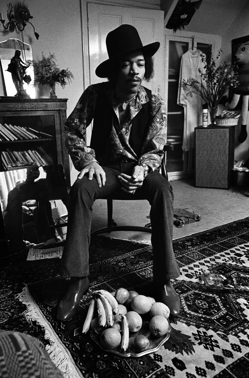 jimi hendrix and his music in the 1960s