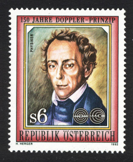 the life of christian johann doppler and his discovery of the doppler effect The medical doppler in hand surgery: its scientific basis, applications, and the history of its namesake, christian johann doppler.
