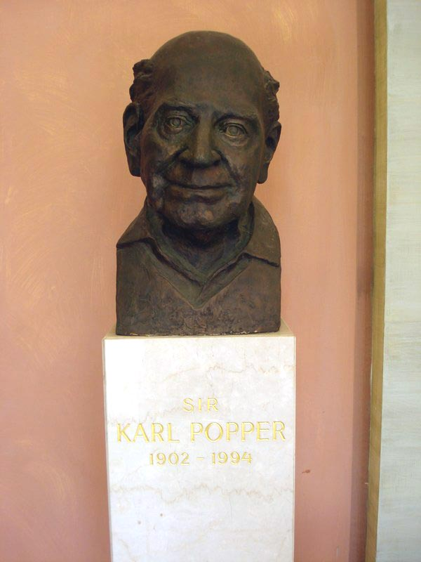 karl popper essays In 1988 the economist invited the philosopher karl popper to write an article on democracy it appeared in the issue of april 23rd that year and made the case for a two-party system as america's presidential race begins, with the iowa caucus on february 1st, we are republishing it, below the.