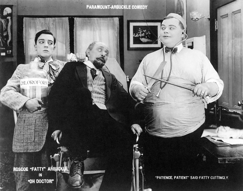 the life and works of roscoe fatty arbuckle