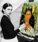 I paint self-portraits because I am the person I know best.  - Frida Kahlo