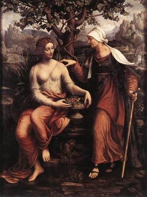 Vertumnus and Pomona. 1518 - 1522 гг.