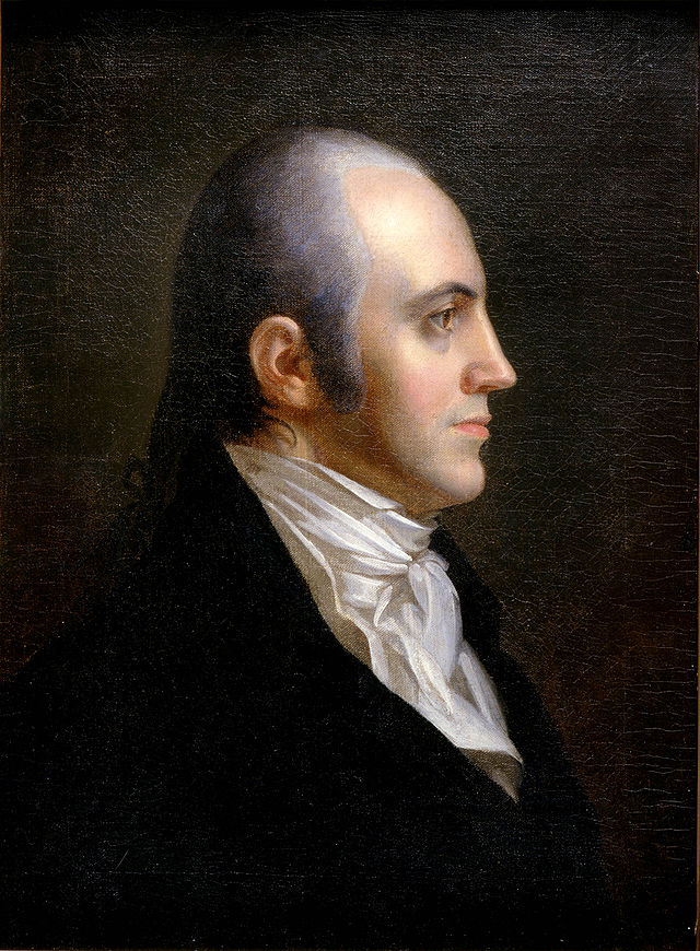 aaron burr essay Aaron burr was the third vice-president of the united states (1801-1805), and he was thought to be one of the greatest students ever to graduate from princeton in the eighteenth century.