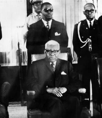 17th November 1967 Haitian politician Francois Duvalier (1907 - 1971), known as Papa Doc, president of Haiti (1957 - 1971).